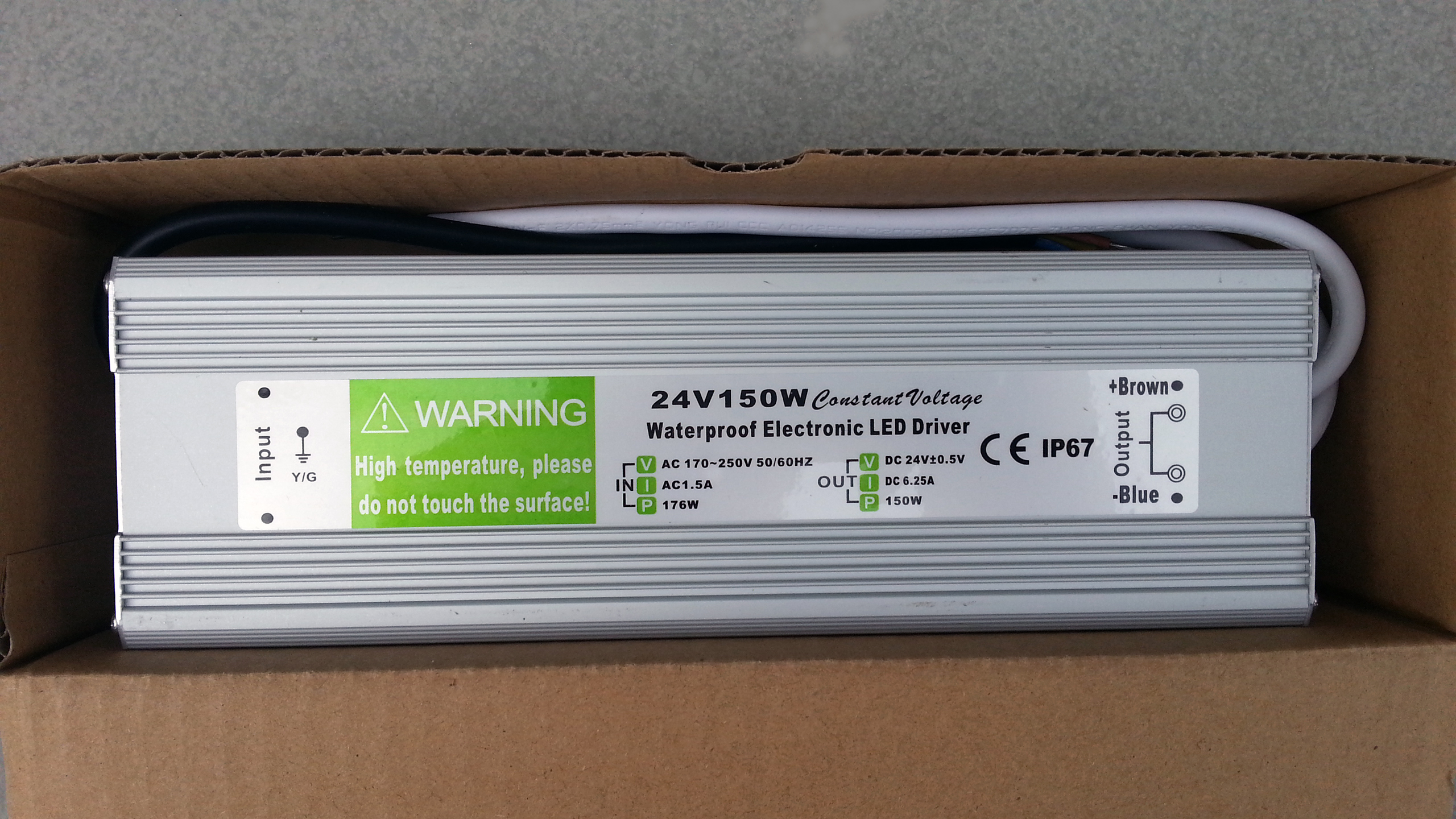 IP67_waterproof_150W_24V_output_power_supply_LED_driver