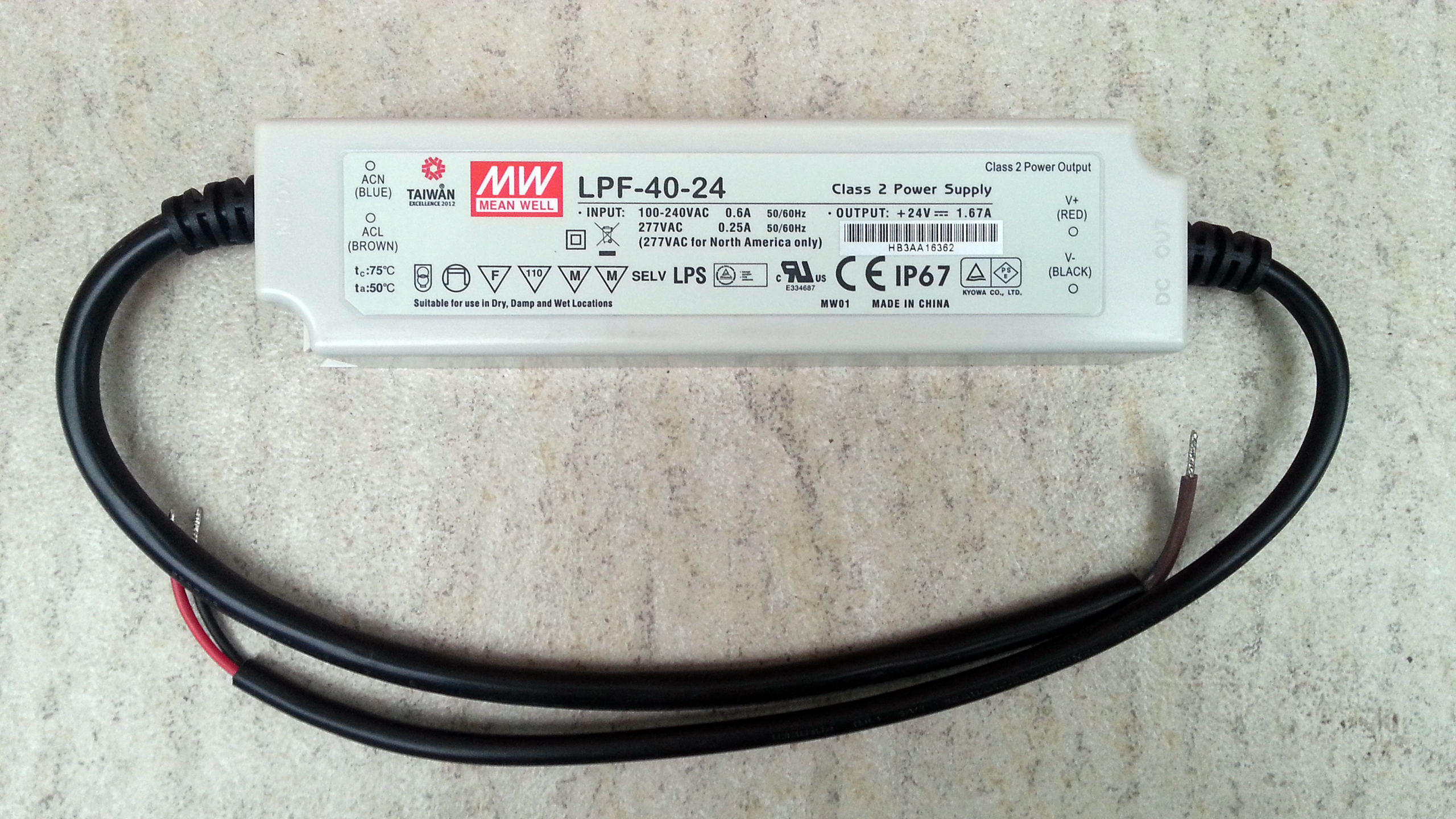 Meanwell_LPD_40_24_waterproof_LED_driver_power_supply