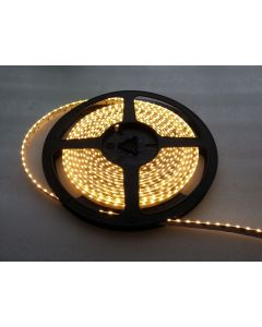 12V 5 meters 600 LEDs IP65 glue waterproof 120LEDs/M flexible SideView 335 LED warm white light strip