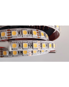 12V 5 meters 480 LEDs SMD 5050 LED flexible warm white light strip