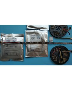 12V 60LEDs/M WS2815 individual addressable black PCB RGB LED strip