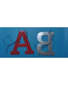 12V alphabet ultra bright RGB LED letter module light