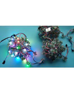 12V WS2811 F8 RGB LED pixel node string