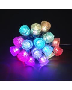 20mm waterproof 5V WS2811 RGB 5050 LED point pixel light