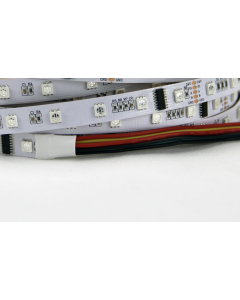 24V 5 meters 240 LEDs IP20 non-waterproof intelligent DMX512 dream color RGB 5050 LED strip