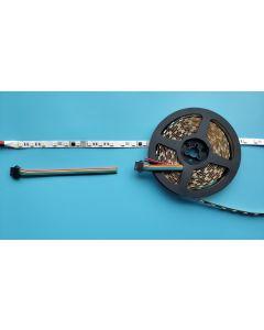 24V 5 meters 300 LEDs IP20 non-waterproof white FPCB digital programmable addressable DMX512 RGBW 5050 LED light strip