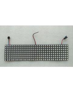 32x8 digital WS2812B programmable 256 pixels RGB LEDs panel display light