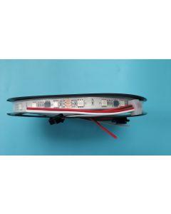 48 LEDs per meter ip67 silicone tube waterproof WS2811 RGB 5050 LED strip
