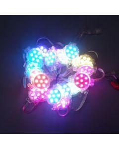 50mm 24V B C D E F type DMX512 UCS512 RGB 5050 LED point light