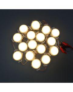50E 50mm RGBWY 5050 LED point light