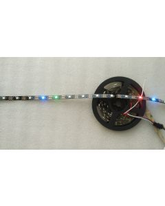 5 meters 150 pixels 5V programmable WS2812B RGB 5050 LED strip
