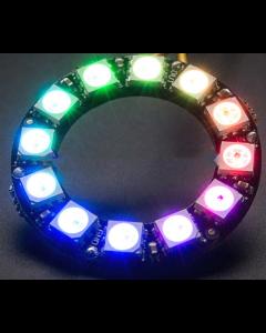5V 12 LEDs digital WS2812B programmable pixel LED light ring