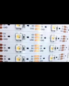 5V 150 LEDs dream color programmable SK6812 RGBW 5050 LED light strip