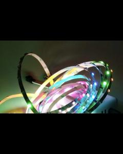 5V 1 meter 90 LEDs IP20 non-waterproof smart addressable SK6812 RGB 3535 LED strip, 5mm width FPCB