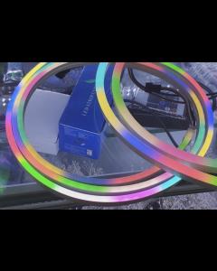 5V 2 meters 192 LEDs IP67 waterproof 6x12mm UCS1903 RGB 0612 LED neon light ribbon