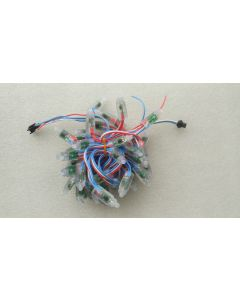 5V 50 nodes 9mm WS2811 RGB LED pixel light string