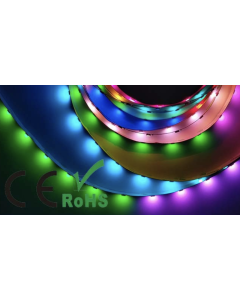 5V 5 meters 150 LEDs CS1808 RGB 5050 LED dream color light strip