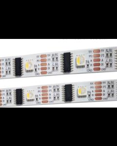 5V 5 meters 160 LEDs addressable DMX512 dream color RGBW 5050 LED light strip