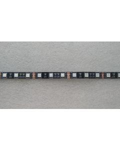 IP20 non-waterproof, black PCB 12V 300 LEDs RGB 5050 LED light strip