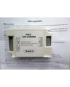 RGB LED lighting control DALI dimmer