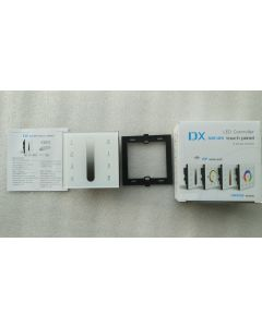 DX5 RF multi zone touch LED DMX512 controller