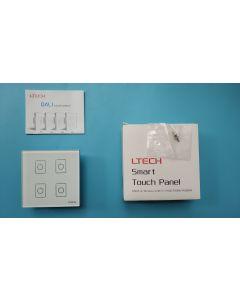 EDA4 LTech 4 Channels DALI LED master control dimmer