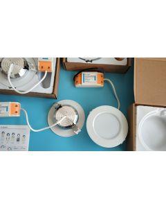 FUT068 MiLight futLight RF WiFi wireless remote control 6W RGB+CCT LED ceiling downlight
