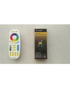 FUT092 2.4GHz 4-zone touch panel RGB + CCT control remote