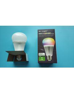 FUTD04 MiLight 2.4GHz Radio Frequency 9W DMX512 RGB+CCT LED light bulb