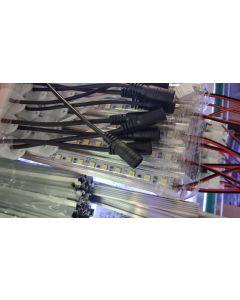 IP65 glue waterproof 12V 1 meter 72 LEDs SMD 5050 LED rigid light strip