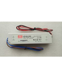 IP67 level Mean Well LPC-60 single output LED power supply driver