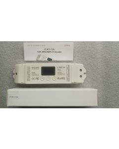 LT-811-12A 1 channel constant voltage LED DMX-PWM decoder with display