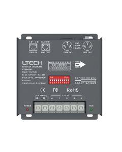 LT-904-DIP LTech 4 channels constant voltage DMX512 RDM decoder