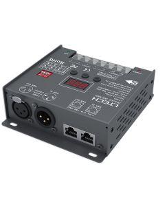 LT-904 LTech 4 channels constant voltage DMX512 RDM LED controller decoder