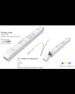 LTech LM-150-24-G2A2 constant voltage 0-10V LED dim CT controller driver