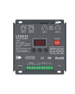 LTech LT-905 RGBWW CV 5 channels constant voltage DMX512 RDM decoder