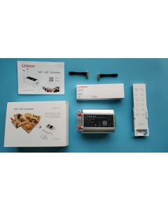 LTech WiFi-106 wireless 2.4GHz iOS Android 5-in-1 RGBWW LED system controller