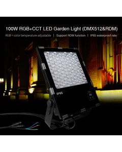 MiBoxer D5-G100 MiLight waterproof 100W DMX512 RDM RGB+CCT LED Garden Light