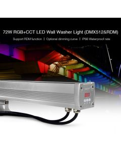 MiBoxer D5-W72 MiLight DMX512 RDM RGB+CCT LED Wall Washer Light