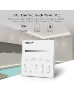 MiBoxer DP1S MiLight DALI dimming touch panel DT6 type LED controller