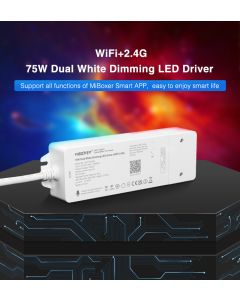 MiBoxer WL2-P75V24 dual white 2 channels WiFi Bluetooth dimming LED driver