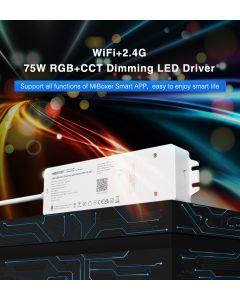 MiBoxer WL5-P75V24 RGB+CCT 5 channels WiFi Bluetooth dimming LED driver