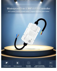 MiBoxer WL5-WP MiLight 5 in 1 WiFi wireless LED controller