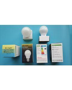 MiLight FUT017 dual white light RF wireless remote LED lamp bulb