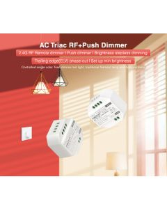 TRi-C1 MiBoxer AC triac RF+Push dimmer