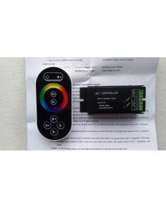 RF touch remote AC 90-230V RGB LED controller