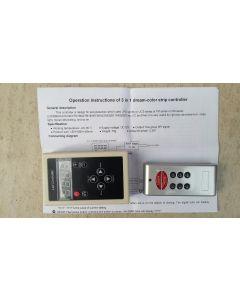 RF remote 3 in 1 dream color digital SPI LED controller