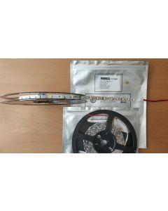S shape bendable 12V 5050 LED pure white light strip