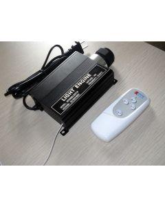 16W remote single output RGB LED optic fiber engine
