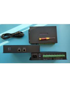 T-500K 4 channels programmable digital DMX SPI master LED controller